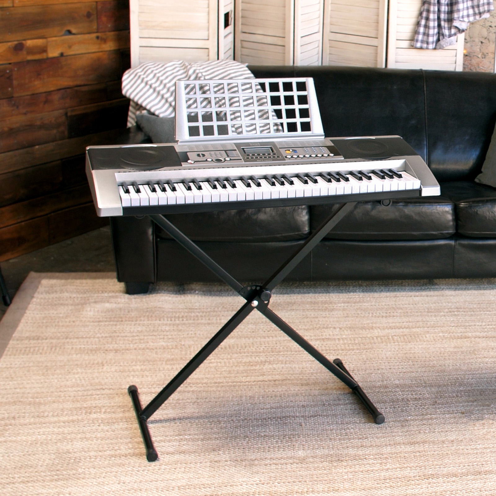 Best choice products 61 key beginner electronic digital keyboard best choice products 61 key beginner electronic digital keyboard piano w adjustable stand power supply speakers walmart fandeluxe Choice Image
