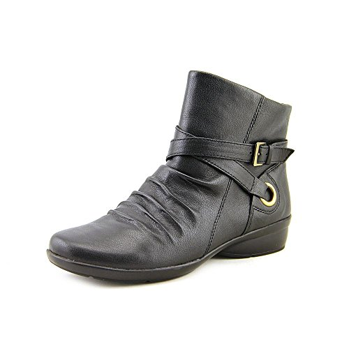 Naturalizer Cycle Round Toe Leather Ankle Boot by Naturalizer