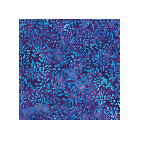 Batik Gemstones~Sapphire Cotton Batik Fabric by Robert Kaufman