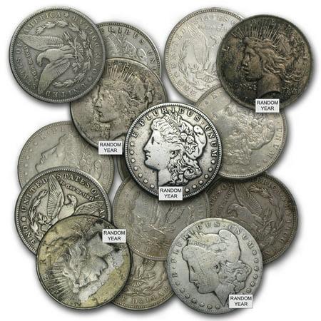 Morgan or Peace Silver Dollars Culls (1878 Morgan Silver Dollar Coins)
