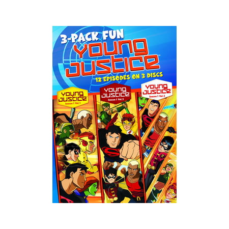Young Justice: Season 1, Volumes 1-3 - Floor 13 Halloween Seasons Tower