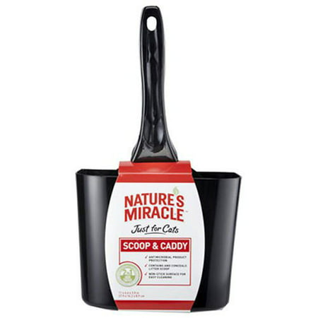 Nature's Miracle Non-Stick Antimicrobial Scoop & Caddy