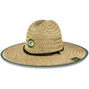 Green Bay Packers New Era 2021 NFL Training Camp Official Straw Lifeguard Hat - Natural - OSFA