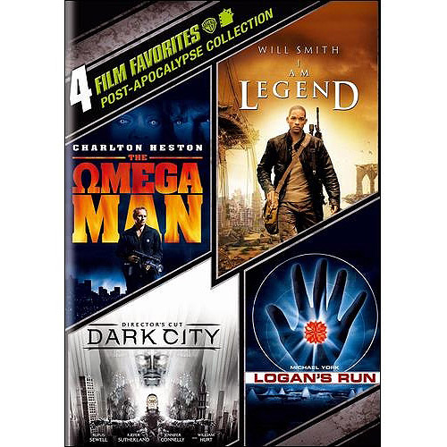 Post-Apocalypse Collection: 4 Film Favorites - Omega Man / I Am Legend / Logan's Run / Dark City (Widescreen)