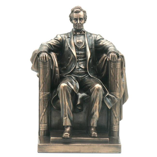 Unicorn Studios WU75764V4 Seated Abraham Lincoln Sculpture