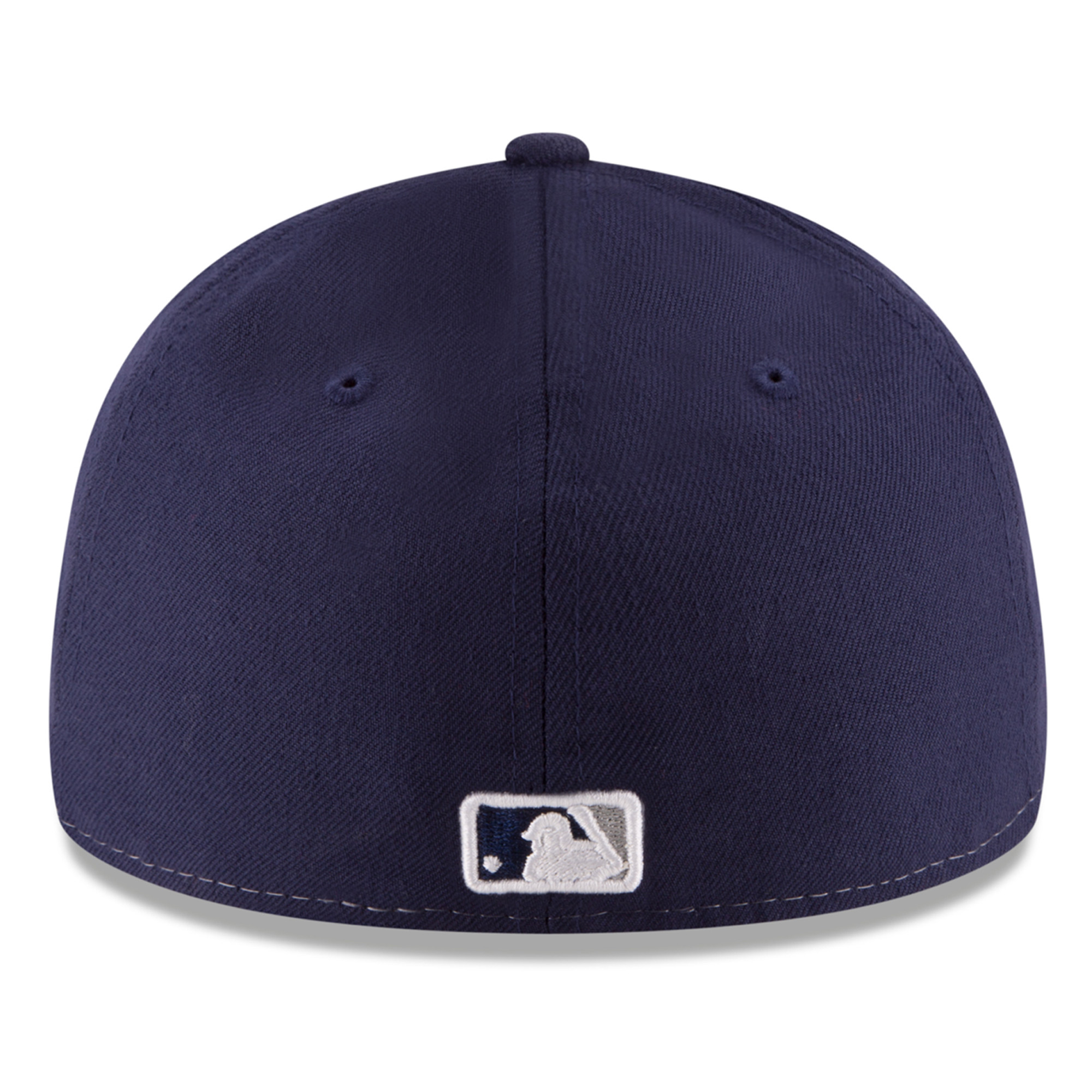 82bd57ce553 San Diego Padres New Era Front N Center Low Profile 59FIFTY Fitted Hat -  White Gray - Walmart.com
