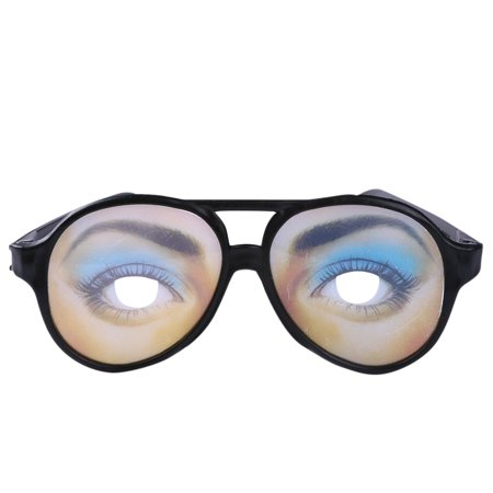 Funny Halloween Candy Pranks (Tailored 2pcs Halloween Toy Male Female Funny Eyes Glasses Prank Eyeglass Party)