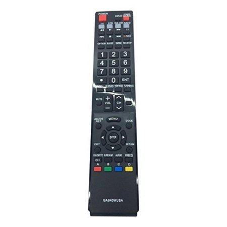 Generic Replaced Lost GA840WJSA LCD TV Remote Control Fit for Sharp Aquos TV