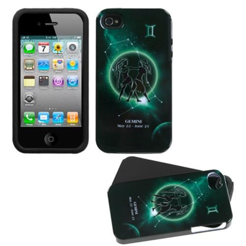 Insten Gemini Horoscope Collection Fusion Case For iPhone 4/4S