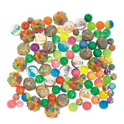 IN-5/1562 Bulk Bouncing Ball Assortment - 100 pcs. 100 Piece(s) - Bouncy Balls Bulk
