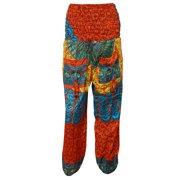 Mogul Women's Harem Pant Mandala Print Palazzo Trousers Yogo Pants