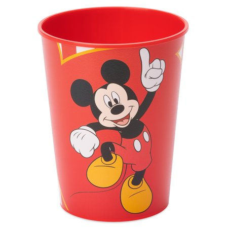Mickey's Scary Halloween Party (American Greetings Mickey Mouse 16oz Plastic Party Cups,)
