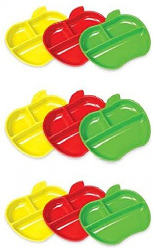 Munchkin Lil Apple Plates 9 Count by Munchkin