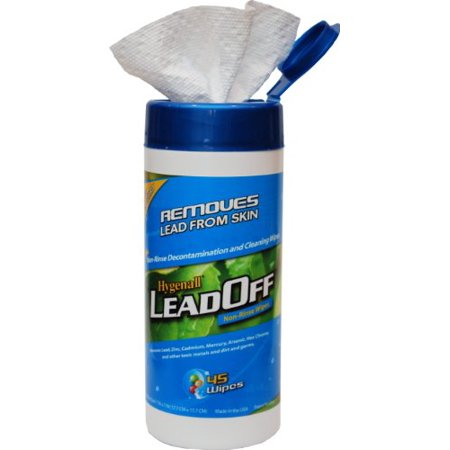 Wipes Canister Removes Lead and Other Toxic Heavy Metals from Skin 45 (Best Way To Remove Heavy Metals From Body)
