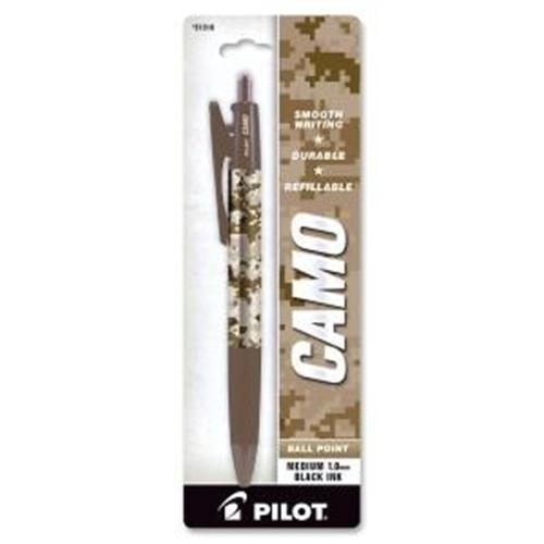 Pilot Corporation Camo Marines Medium Tip Refillable Ballpoint Pen