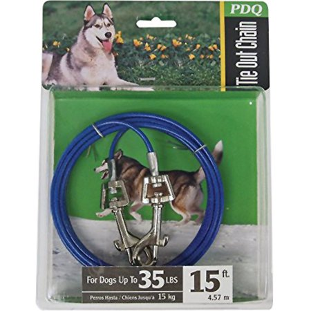 Boss Pet Products PDQ Medium Dog Tie Out 15