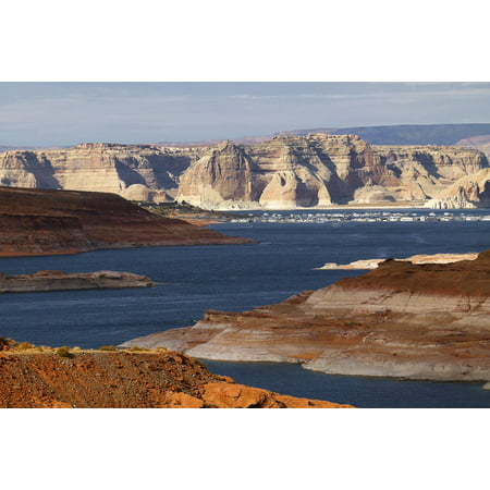Canvas Print Lake Powell USA Tourist Attraction Outdoor Arizona Stretched Canvas 10 x 14 - Arizona Halloween Attractions