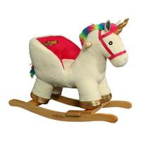 Rockin' Rider Sparkle the Unicorn Baby Rocker