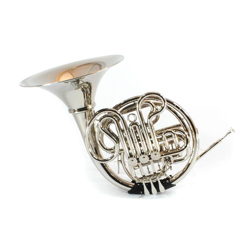 Schiller Elite V French Horn - Nickel Plated