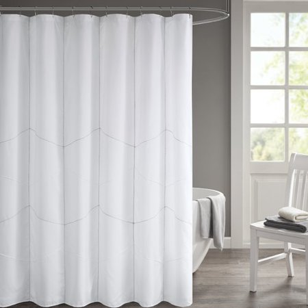 Ebern Designs Easley Solid Shower Curtain - Walmart.com