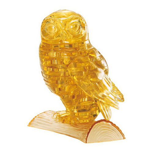 3D Crystal Puzzle Owl, 42 Pieces