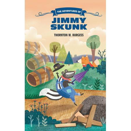 The Adventures of Jimmy Skunk - Skunk Skeleton
