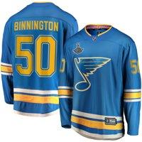 Jordan Binnington St. Louis Blues Fanatics Branded 2019 Stanley Cup Champions Alternate Breakaway Player Jersey - Blue