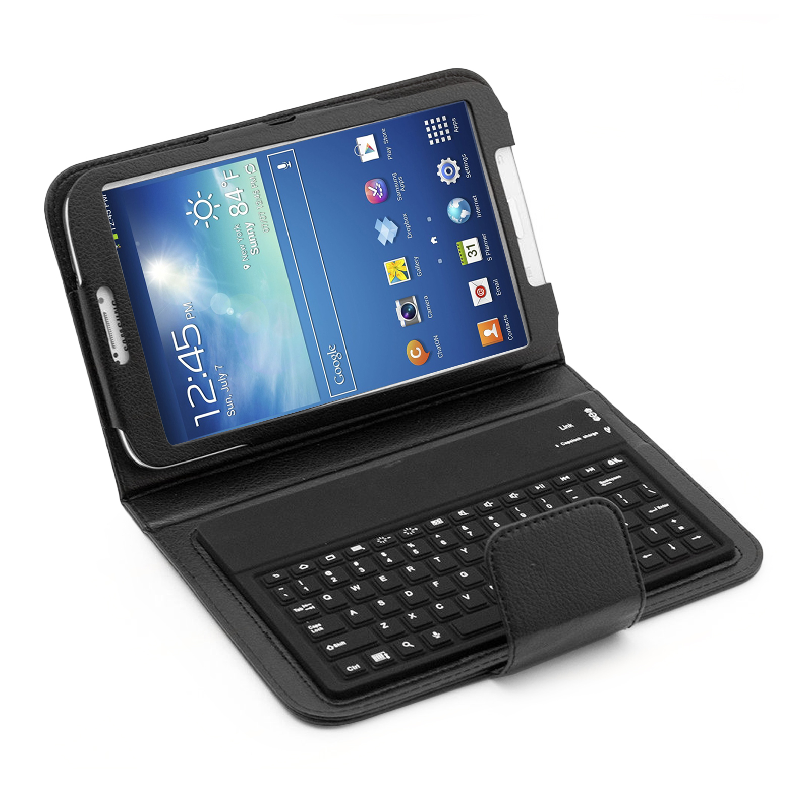 "Bluetooth Keyboard Folio for Samsung Galaxy Tab 3 8.0"" Tablet (87438)"