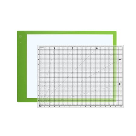SewingRite Glow Basic Light Board with Non Slip Self Healing Cutting Mat for Scrapbook and Craft Projects