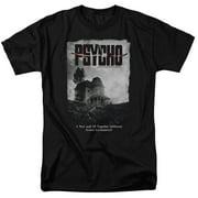 Psycho House Poster Mens Short Sleeve Shirt