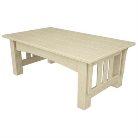 Poly Wood MS2748SA Mission Coffee Table Sand by POLY WOOD INC