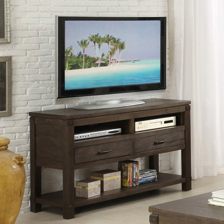 Riverside Promenade Console Table - Warm Cocoa