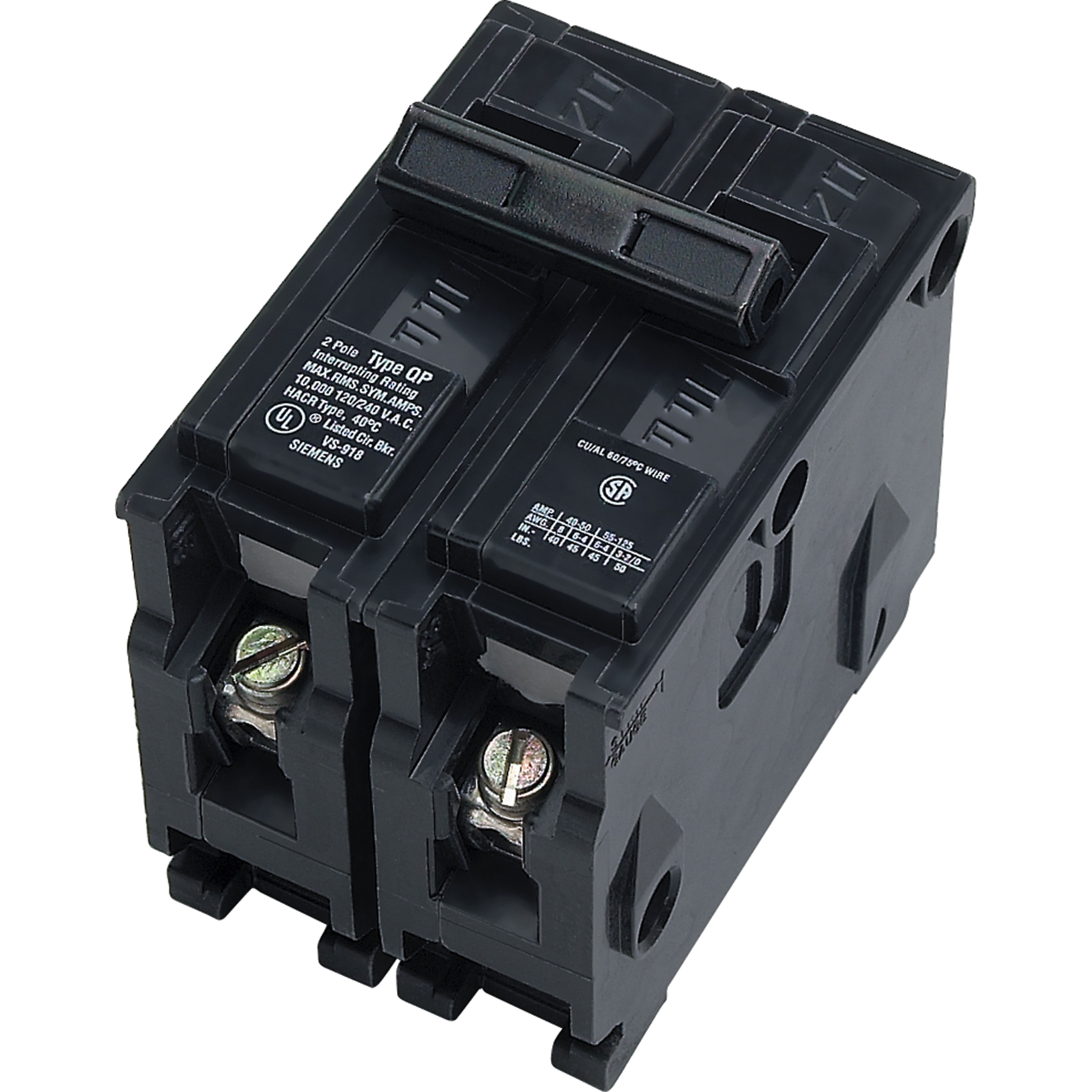 Parallax ITEQ250 Double-Pole Circuit Breaker - 50 Amp