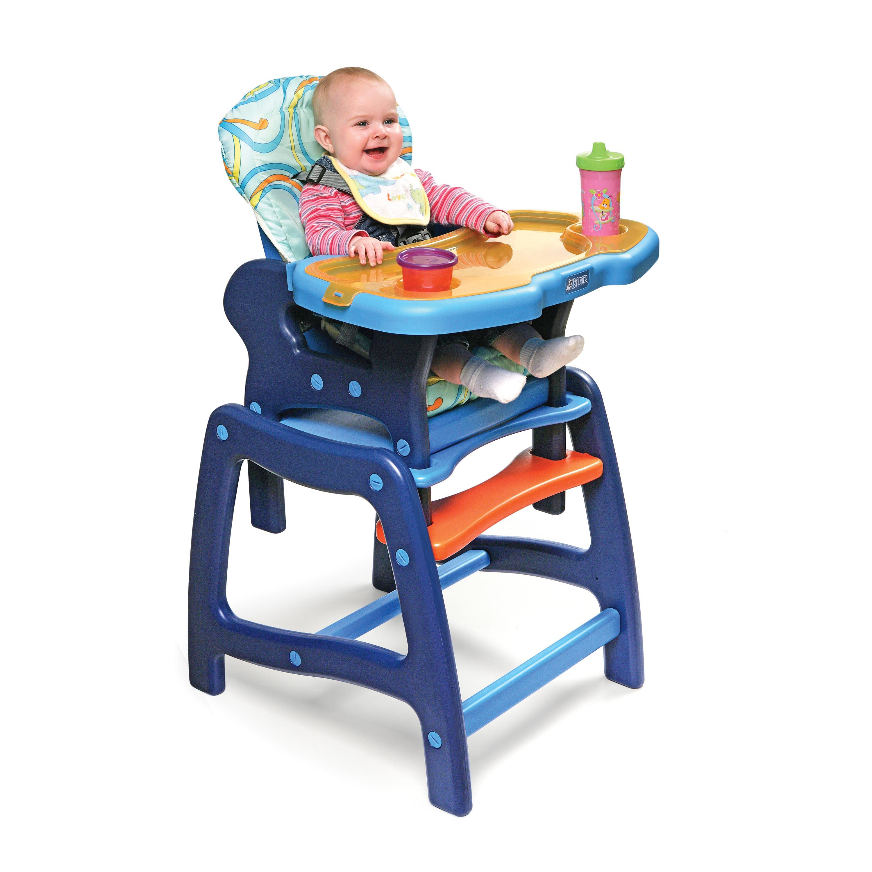 "Enveeâ""¢ Baby High Chair with Playtable Conversion-Color:Pink and ..."