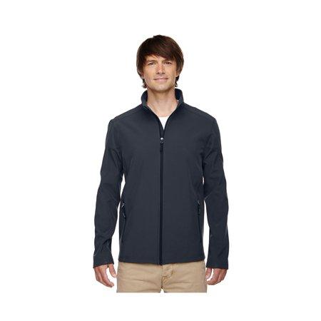 Jacket Carbon (Core 365 Cruise Men's 2-Layer Fleece Bonded Soft Shell Jacket, Style 88184 )