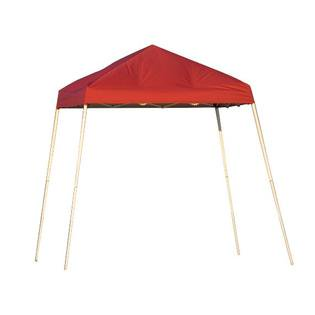 Sport Slant Leg 8 X 8 Ft. Pop-up Canopy (Red) with Durable Carry Bag