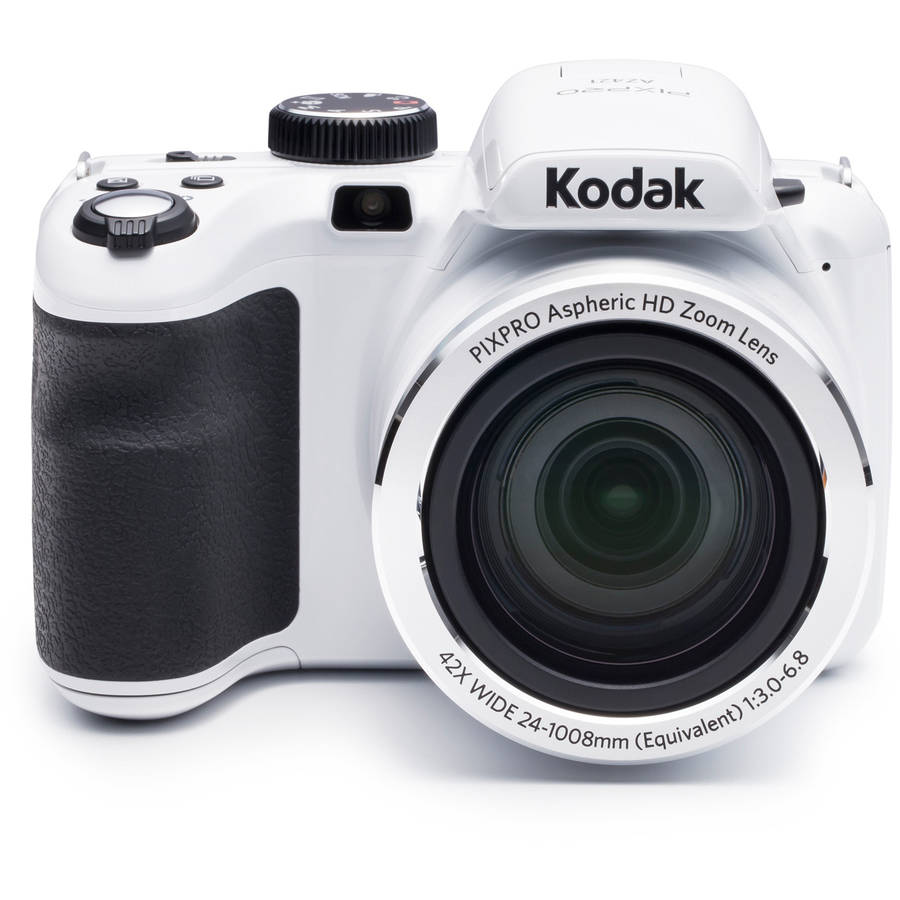 KODAK PIXPRO AZ421 Bridge Digital Camera 16MP 42X Optical Zoom HD720p (Black) by Kodak