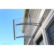 ADVANING Solid Polycarbonate Door Awning, PA Series