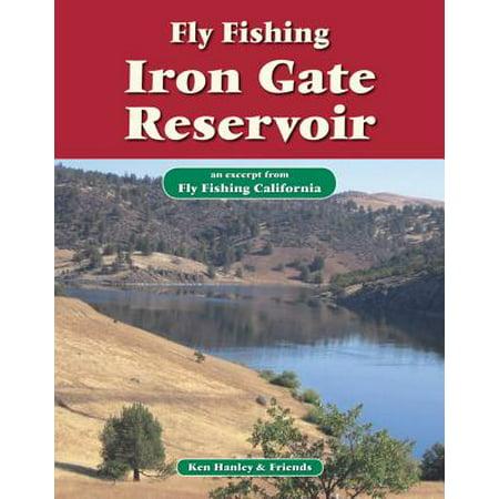Reservoir Fishing Map - Fly Fishing Iron Gate Reservoir - eBook