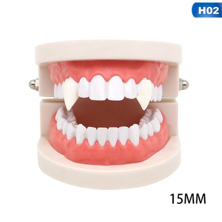 Diy Halloween Decorations For Toddlers (KABOER Vampire Teeth Fangs Dentures Props Halloween Costume Props Party Favors Holiday DIY Decorations horror adult for)