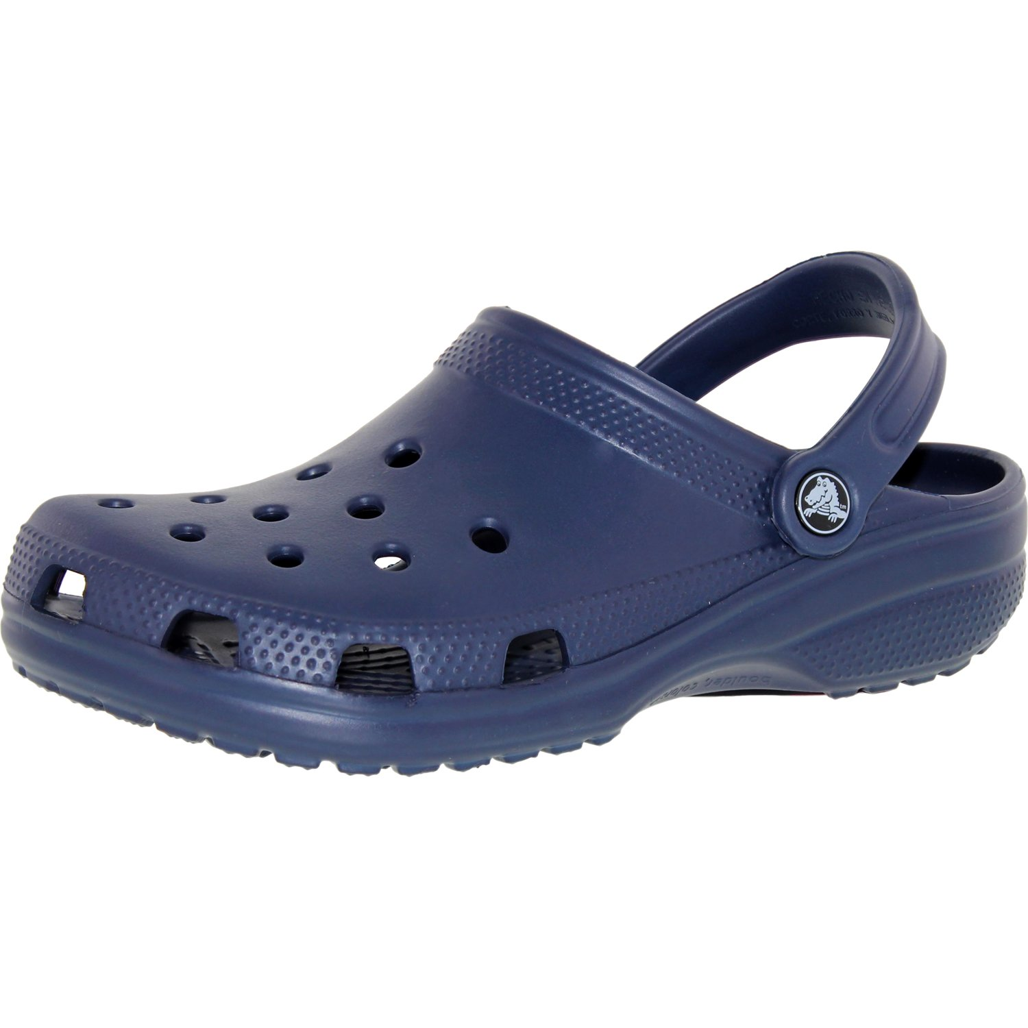 Crocs Men's Classic Navy Ankle-High Rubber Sandal - 5M