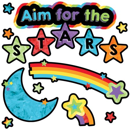 Celebrate Learning Aim for the Stars Mini Bulletin Board Set](Learning Express Miami)