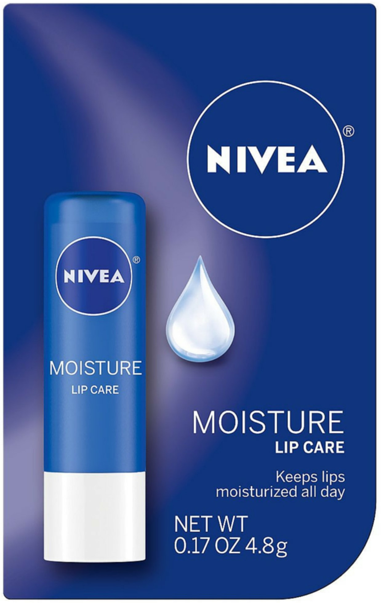 Nivea A Kiss Of Moisture Essential Lip Care 017 Oz Pack 6 Balm 48g