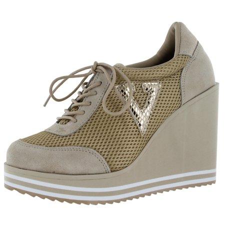 Volatile - Volatile Rappin Women s Platform Wedge Sneakers Shoes ...