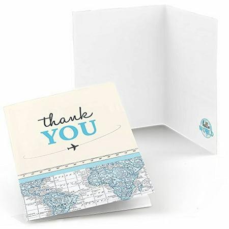 Precious Cargo - Blue - Baby Shower Thank You Cards (8 count) (Baby Shower Thank You Gifts)