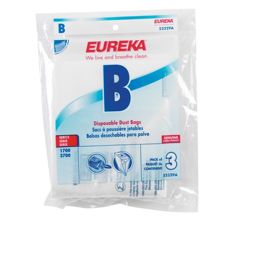Eureka Style B Canister Vacuum Bag (Set of 3)