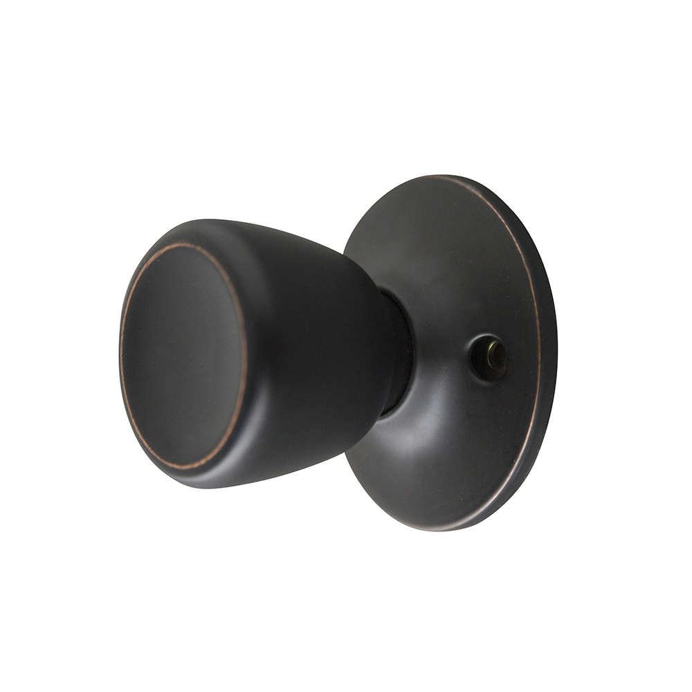 Design House 728691 Terrace Dummy Door Knob, Oil Rubbed Bronze