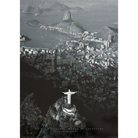 Rio De Janeiro, Photography Poster Print, 24 by 36-Inch