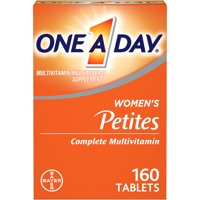 One A Day Women's Petites Multivitamin, Supplement with Vitamins A, C, E, Calcium, Biotin, and B-Vitamins, 160 ct.