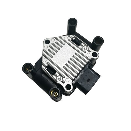 Volkswagen Beetle Ignition Coil (Ignition Coil Pack - 1999, 2000, 2001 Volkswagen Golf, Jetta, Beetle 2.0L - Replaces Part# 032905106E, 032905106B, 032 905 106B - Coil Pack VW 2.0 )